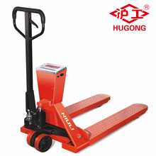 3 ton df hydraulic pump hand pallet truck with scale