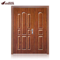 High quality residential steel double entry doors on sale