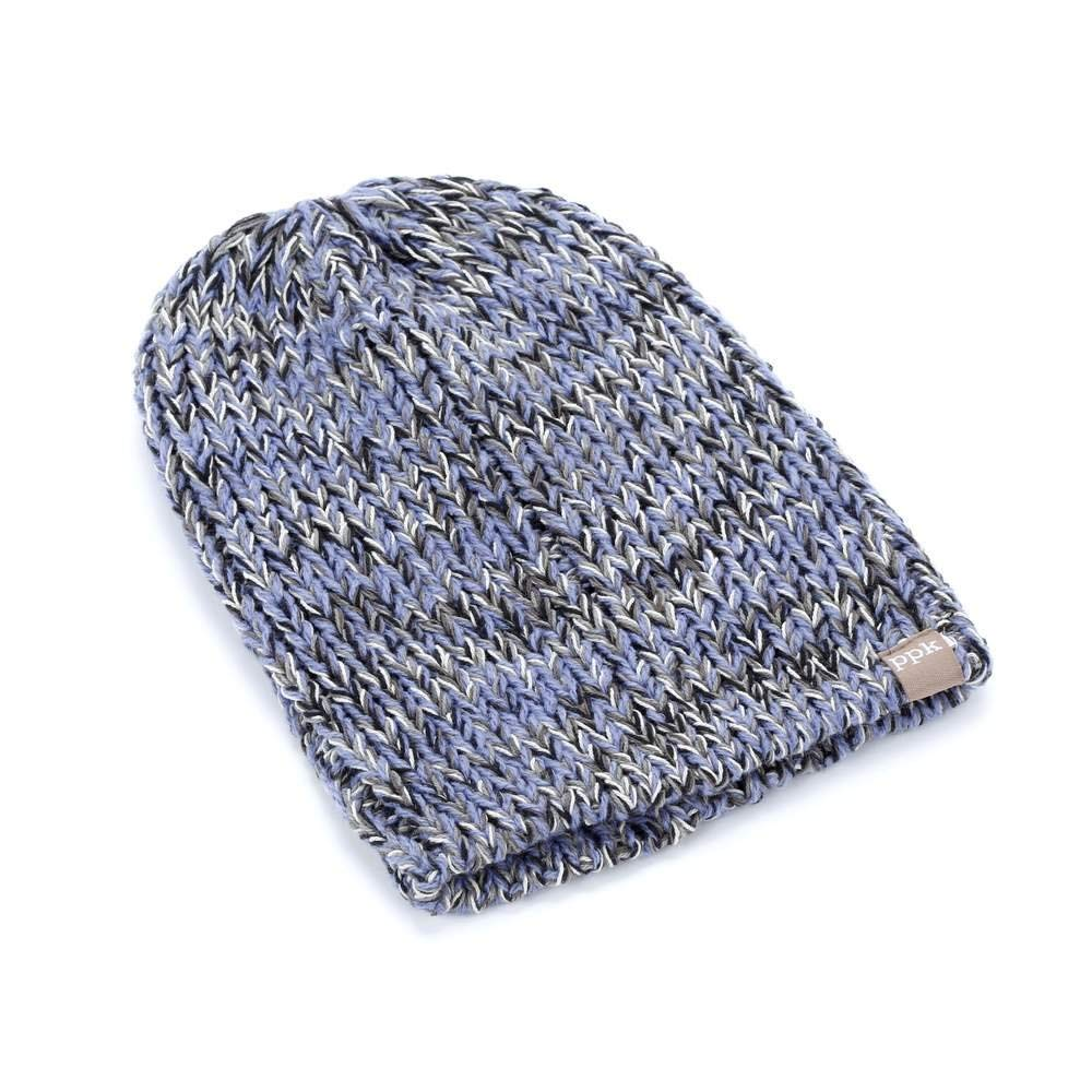 d46320848b5 Get Quotations · Peppercorn Kids Stretchy Rib Beanie - Blue-ML (4-8+ Years)