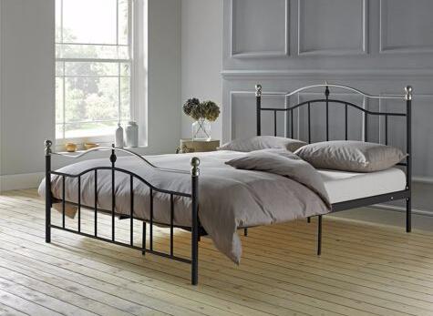 corazn de casa ketton tapizados cama doble marco