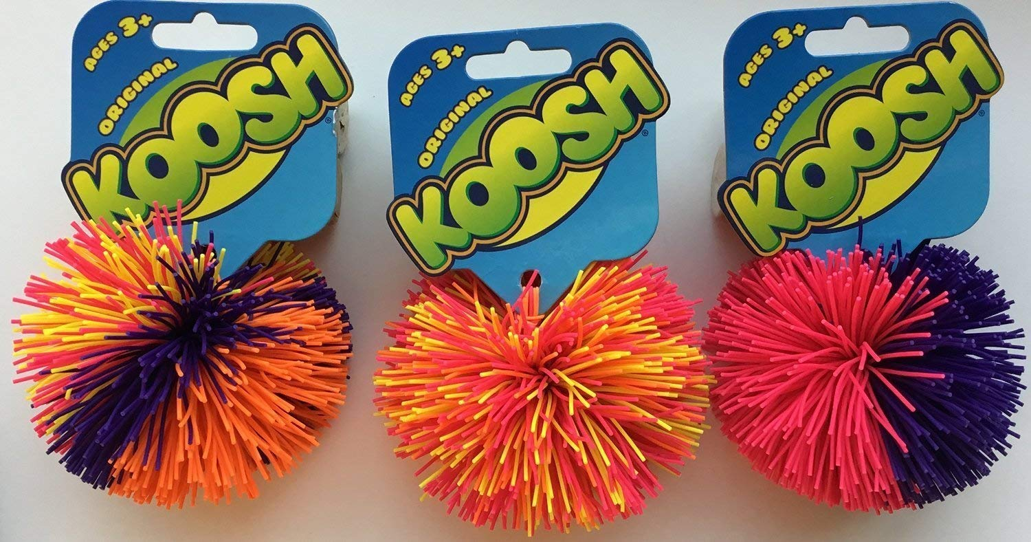 Koosh - Set of 3 Original Koosh Balls by Basic Fun