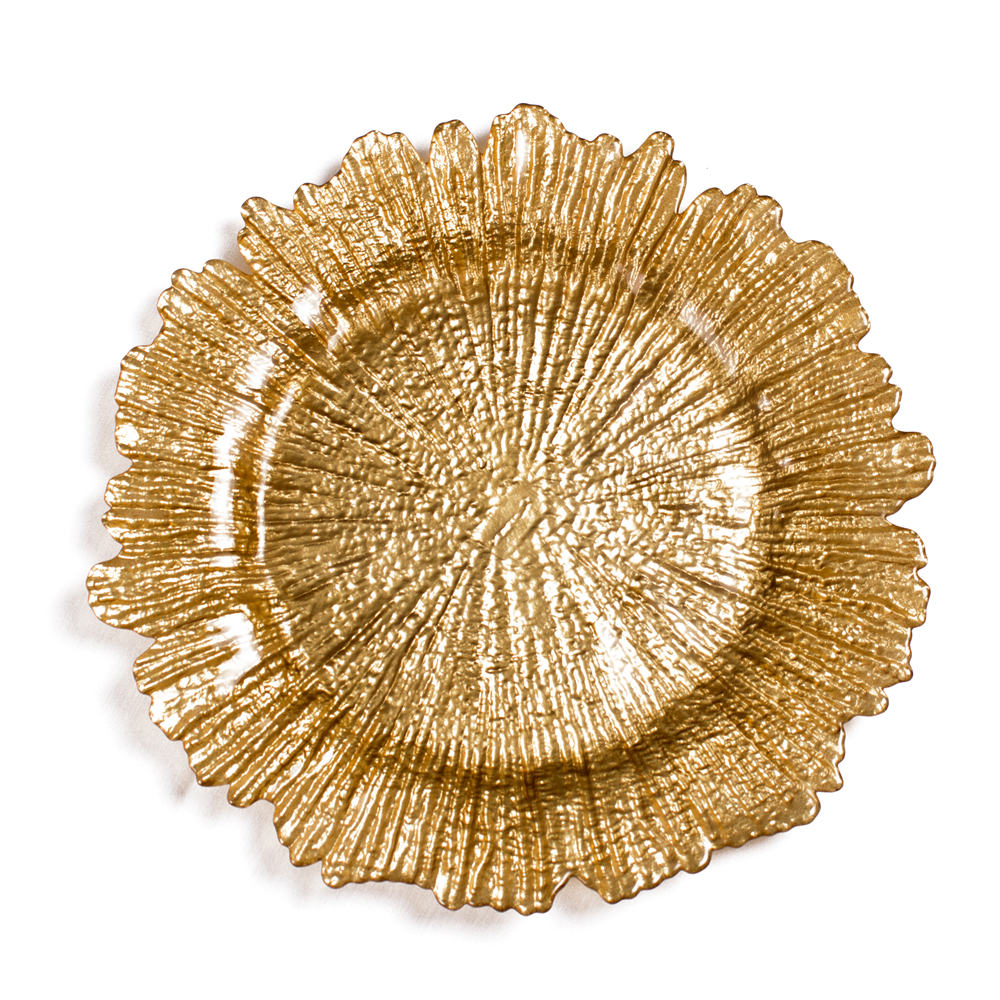 Fantastic Free sample avaible elegant gold snowflake shape charger <strong>plates</strong> wholesale