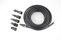 1/4 inch high pressure hose abrasion wear resistant washing cleaning machine hose wire steel braided car washer hose