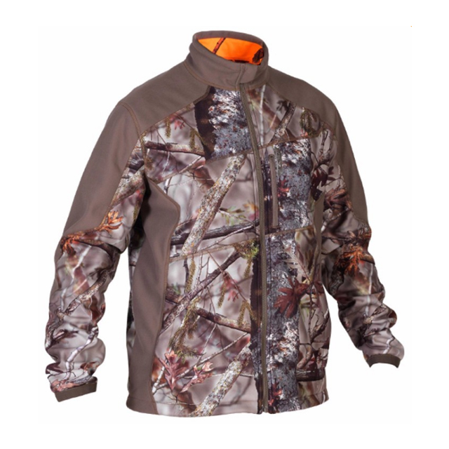 100% Polyester Waterproof Reversible Hunting Camouflage Clothing Of Winter Tactical Jacket