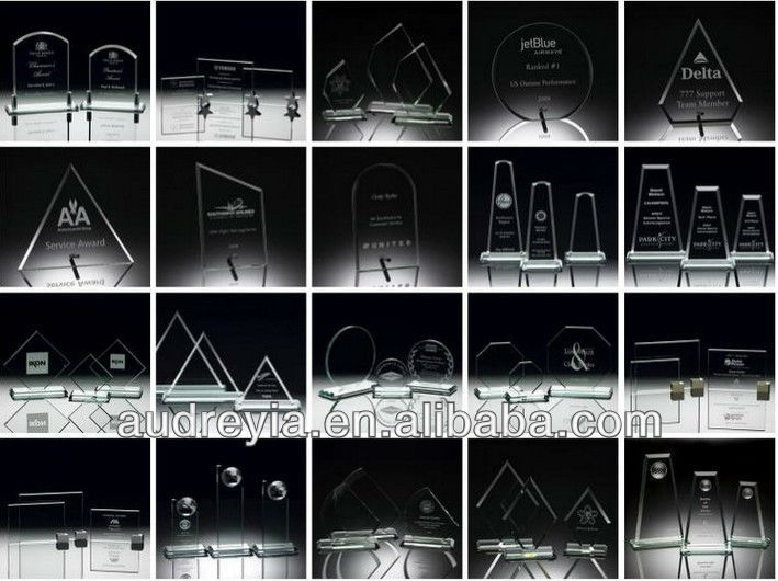 Engraving blank optical glass awards wholesale