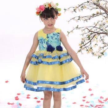 b129ac89490cd Modèle Robes Pour Filles Vêtements Pour Enfants 2016 Fille D été ...