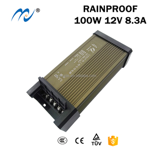QS-100-12FY ip65 10A 20A 12V 24V 100W Uninterruptible Rainproof Switching Power Supply