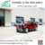 2 seater garden house ,villa and restaurant ,hotel and resort electric red vintage classic car with 2 rear seat