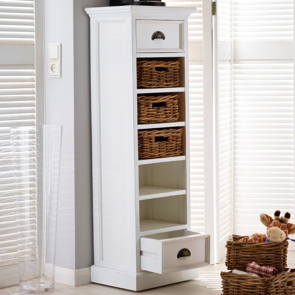 Nova Solo Halifax Storage Tower with Basket Set