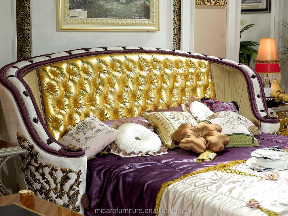 Últimas Cuero Oído Cabecera Color Blanco Crema Antiguos Real Muebles ...