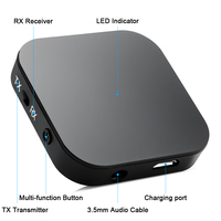 Audio Bluetooth Adapter 2 in 1 with APT-X and Multi-function