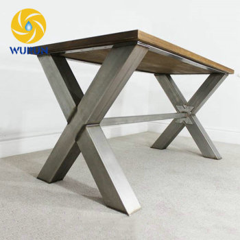 tables d table custom contact made metal steel legs tops bases