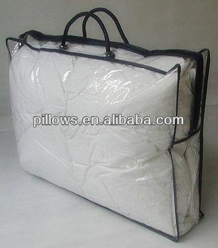 Marvelous Plastic Comforter Storage Bag With Nylon Zipper