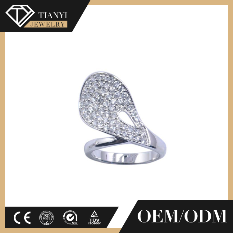 value 925 silver sun diamond ring