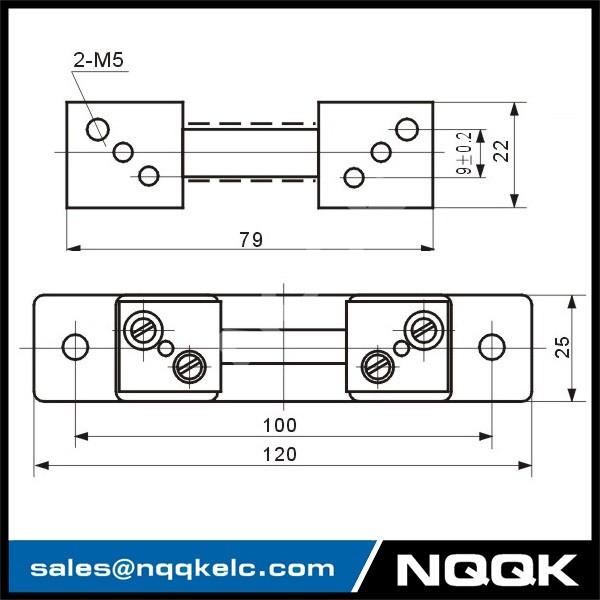 2 nqqk DC 10A  75mV 50mV 55mV current Shunt Resistors.jpg