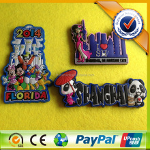 2017 Promotional Custom 3D Soft PVC rubber Fridge Magnet