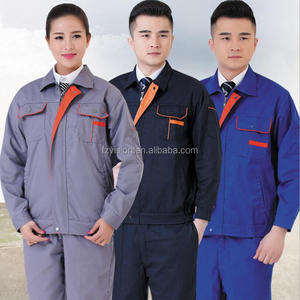 Customized cotton Jacket and Pants Factory Uniforms Overall Workwear