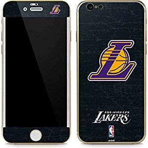 NBA Los Angeles Lakers iPhone 6 6s Skin - Los Angeles Lakers Secondary Logo  Vinyl 2c170dc79