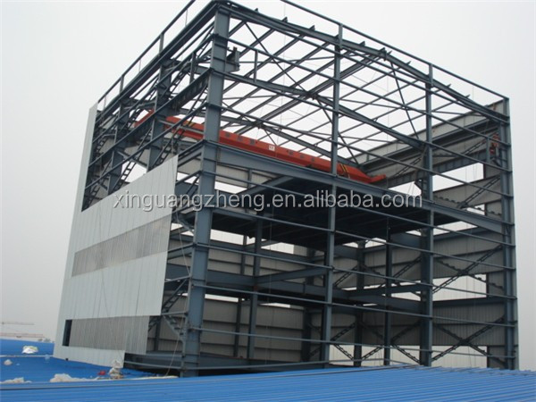 Industrial light galvanized steel warehouse