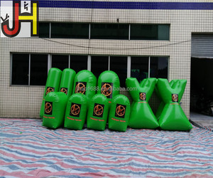 Directly Manufacturer Produced PVC Material Inflatable Paintball Bunkers
