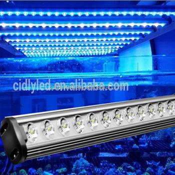 2015 beste aquarium led verlichting koraal waterdichte aquarium led licht voor rif aquarium 90cm