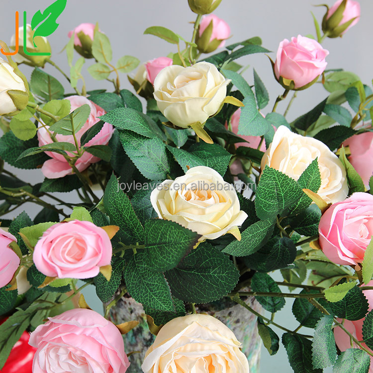 High Simulation Artificial Flowers Bract Roses, Real Touched Roses Top-grade Europe Style