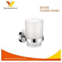 Wall Mounted Bathroom Single Glass Cups Holder