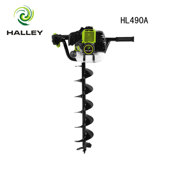 52cc petrol fence post hole borer drill, View FENCE POST HOLE BORER, HALLEY  Product Details from Zhejiang Halley Power Machine Co , Ltd  on