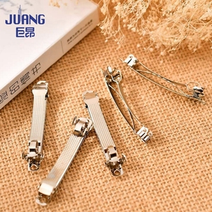 Factory Supply Stainless Steel Metal French Barrette spring Hair Clips