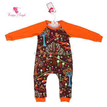 Wholesale Newborn Baby Clothes Soft Floral Infants Long Sleeve Baby
