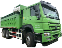 heavy duty Sinotruk 6X4 Hydraulic Cylinder rear Dump Truck /Tipper Trucks For Sale