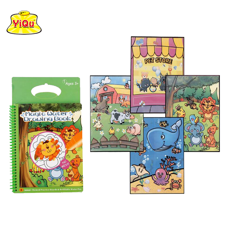 Agua barata dibujo magia Doodle Mat papel libro para colorear con ...