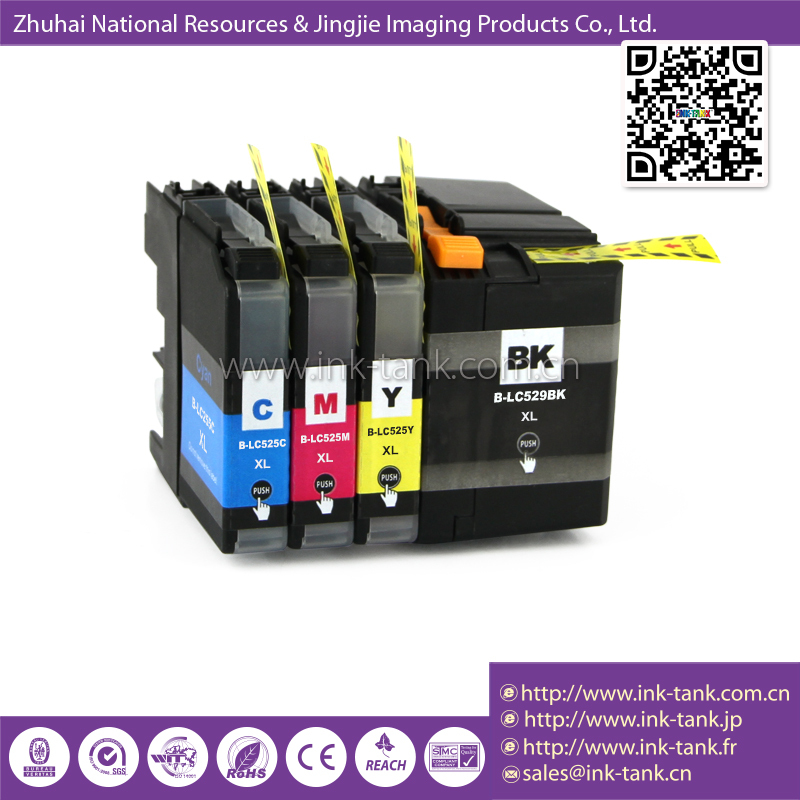 Lc-529 Xl Lc-525 Xl Compatible Brother Ink Tank Inkjet Printer Use ...