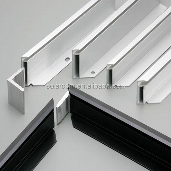 Aluminum Extrusion Solar Panel Frame - Buy Pv Solar Module Frame,Solar Panel Support Frames,Anodized Aluminium Frame Product on Alibaba.com