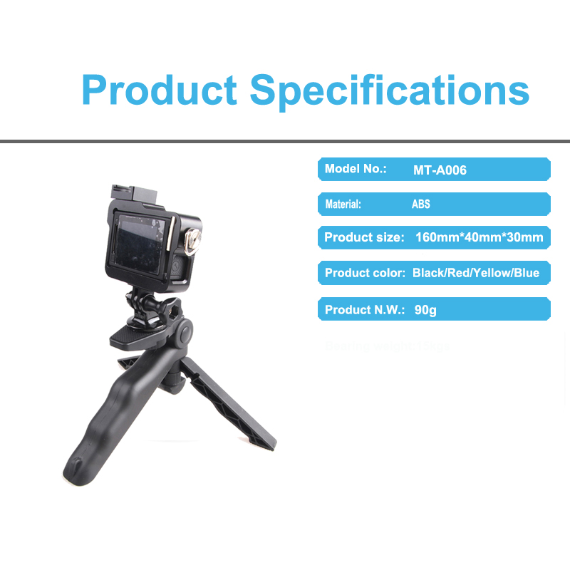 Factory Supply mini tripod holder for camera