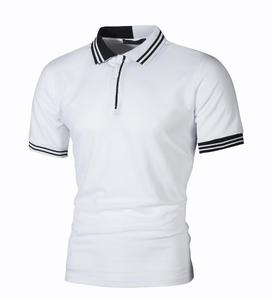 Wholesale Striped T-shirt Men's High Quality Polo T-shirt