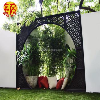 Stainless Steel Laser Cut Decorative Panels Wall Parion Corten Garden Divider Outdoor Metal Privacy Screens