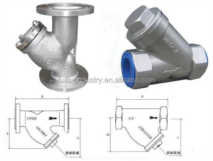Natural Gas Y Strainer
