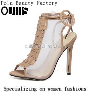 New fashion Summer Peep Toe Ankle Boot Sandals Hollow Out Sandal For Carton Fair PF4223