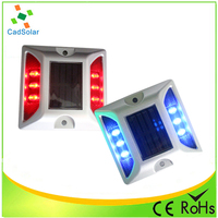 Blinking led flashing solar driveway marker light with waterproof IP68