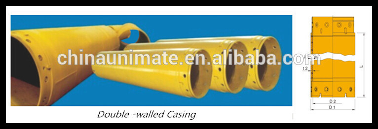 Iso9001 Certified Factory Large Diameter Thick Wall Steel Pipe,Piling Rig  Casing Tubes - Buy Large Diameter Thick Wall Steel Pipe,Piling Rig Casing
