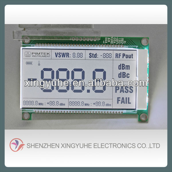 segment lcd supplier for digital lcd display speedometer