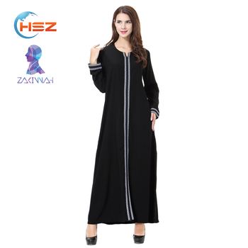 Zakiyyah TH902 Arab abaya for muslim women long dress kaftan