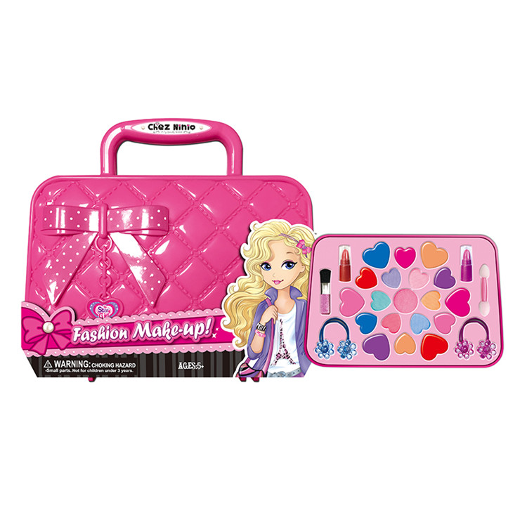 Tocador Juguete Hand Bag Cosmetics Set Toy Girls Makeup Kit For Kids