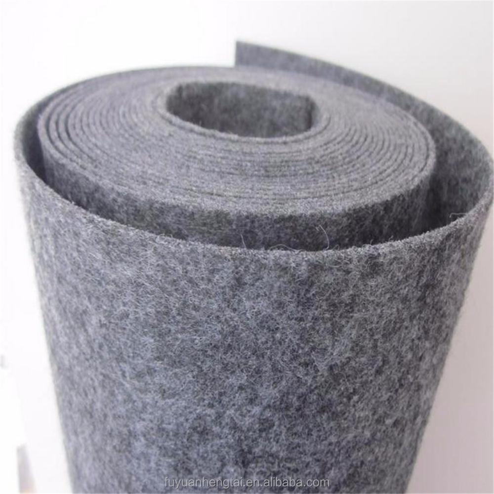Wholesale plain Style sheep wool felt fabric from China high-class manufacturer.