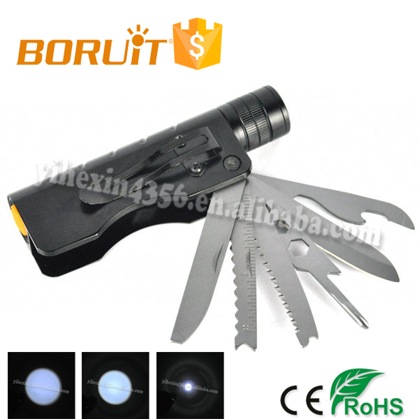7 in 1 Multifunction Utility Tool LED Flashlight (1*18650)