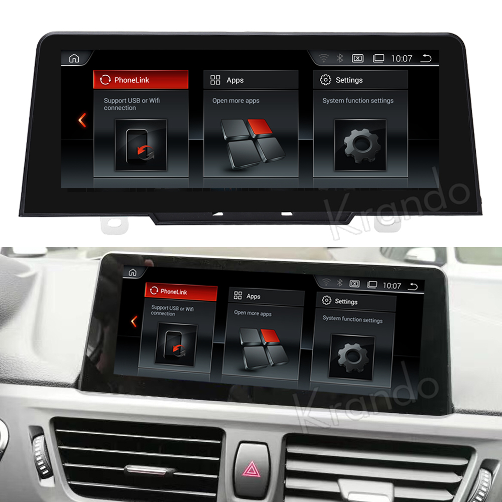 Krando 8.8'' android car radio multimedia for bmw 1 series F20 F21 2017 navigation with gps system
