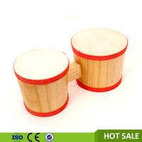 Musical instrument supplier hang drum wood bongo drum