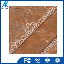 Wholesale Kitchen Brown Glossy 40x40 Floor Tile Cheap Price