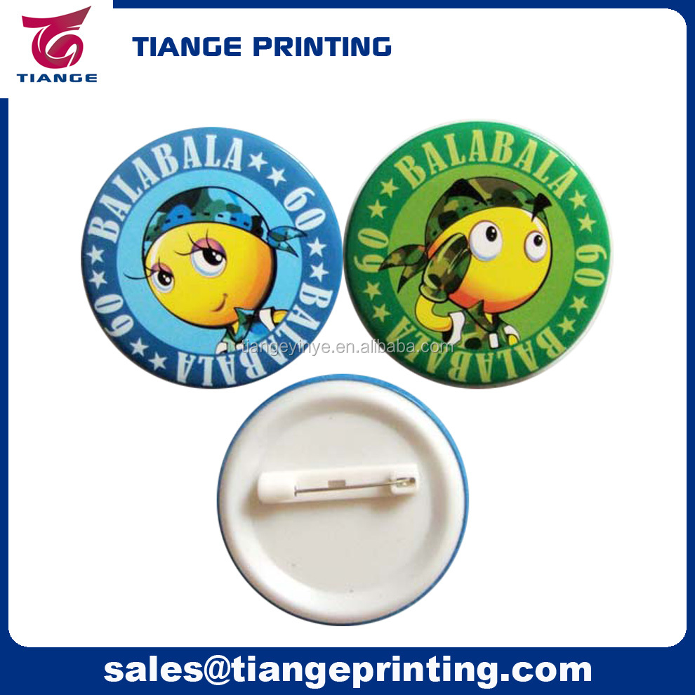 Custom Pin Badge Cartoon Pin Button Badge Printing - Buy Custom Pin  Badge,Pin Button Badge,Badge Pin Product on Alibaba com